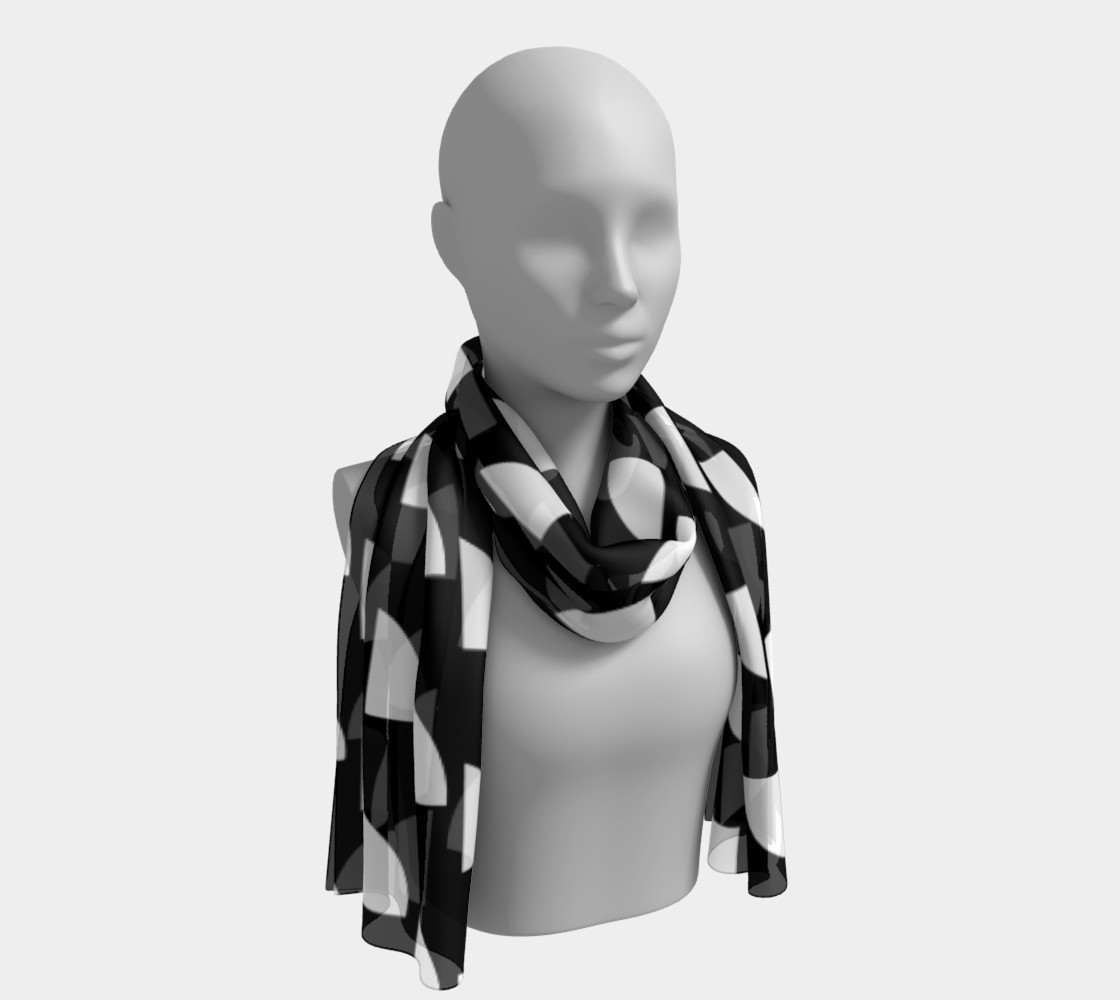 Movin' On Up Long Scarf preview #1