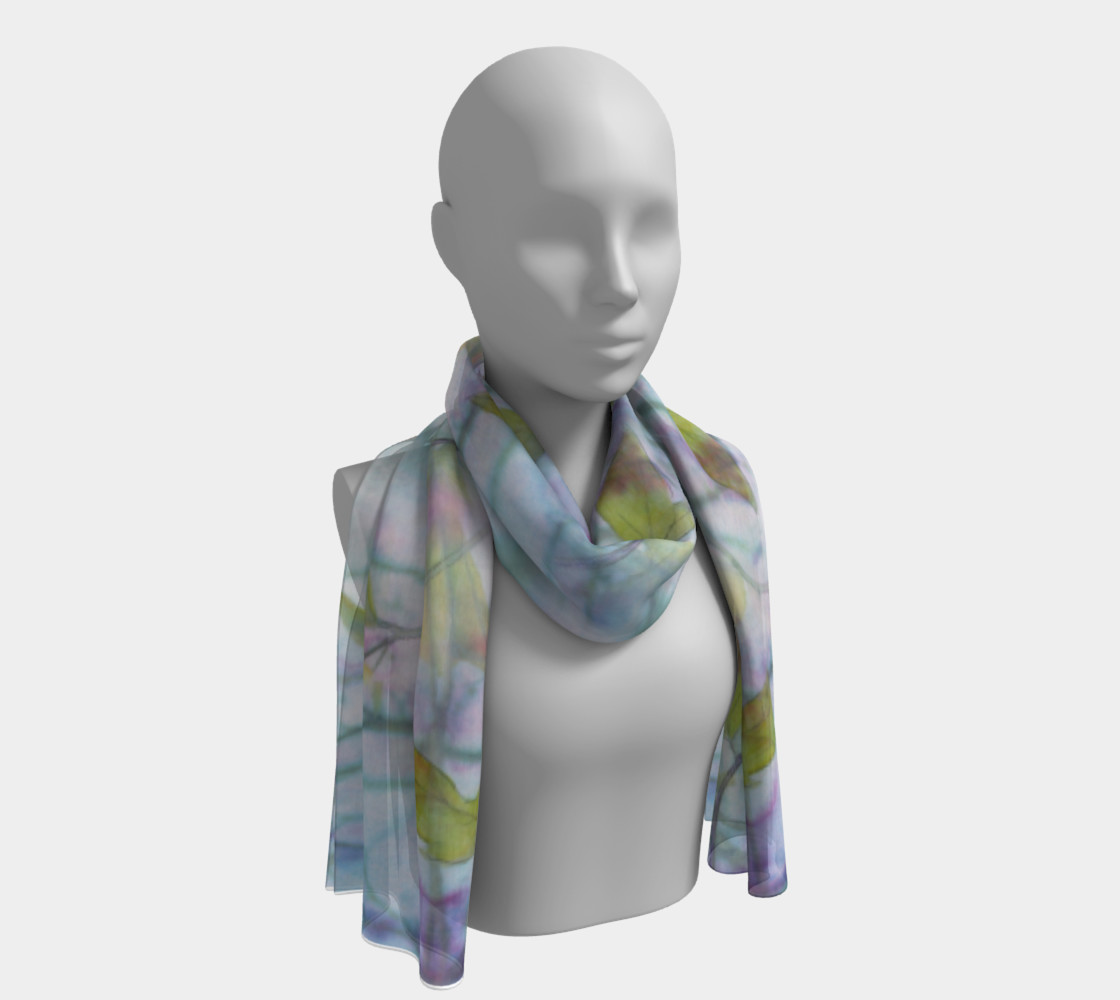 Spring Maple Long Scarf preview #1