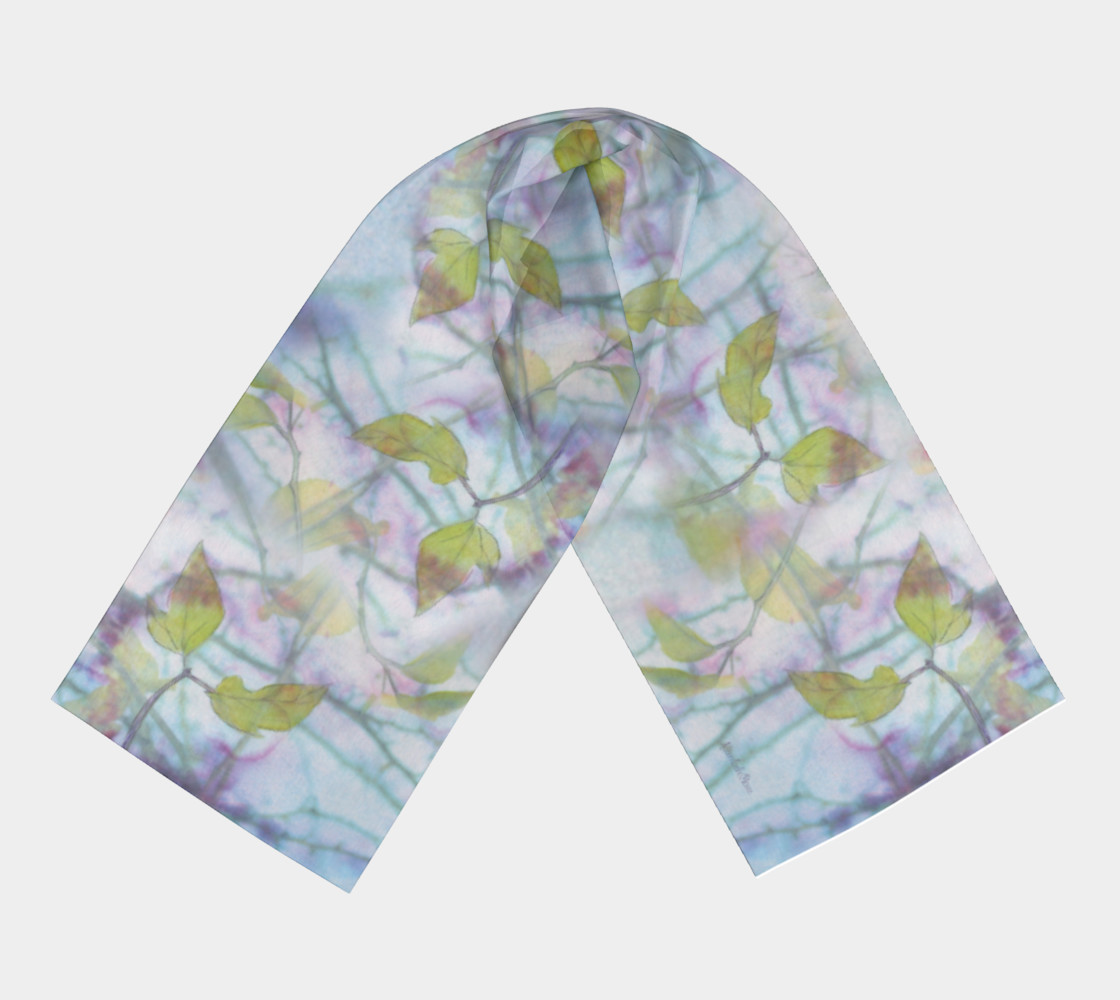 Spring Maple Long Scarf preview #3
