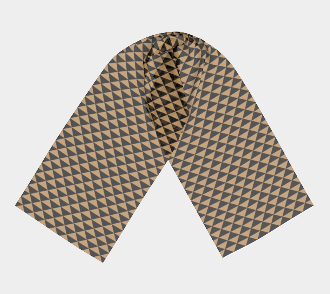 Black and Camel Brown Triangles preview #3