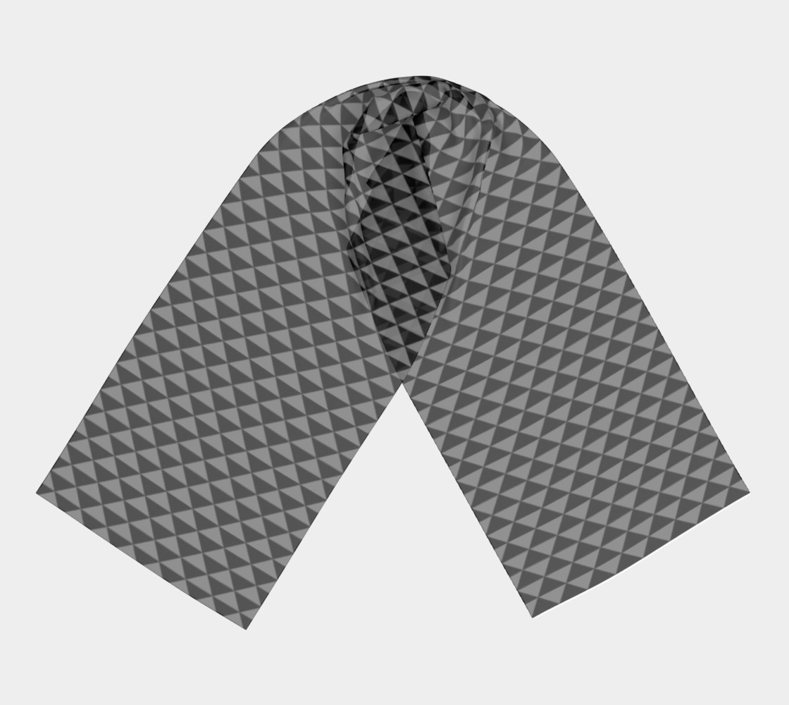 Black and Medium Grey Triangles preview #3