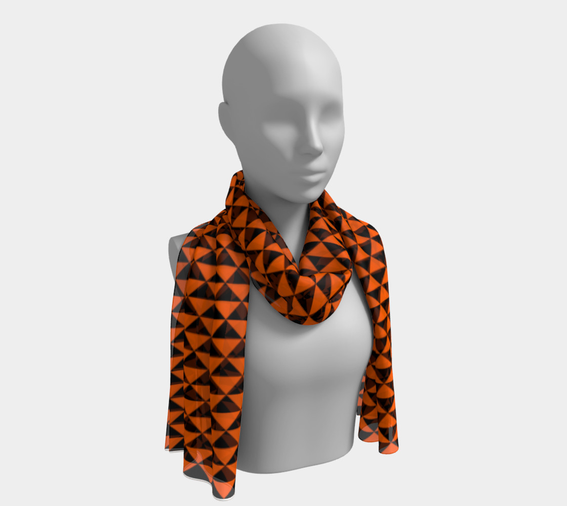 Black and Orange Triangles preview #1