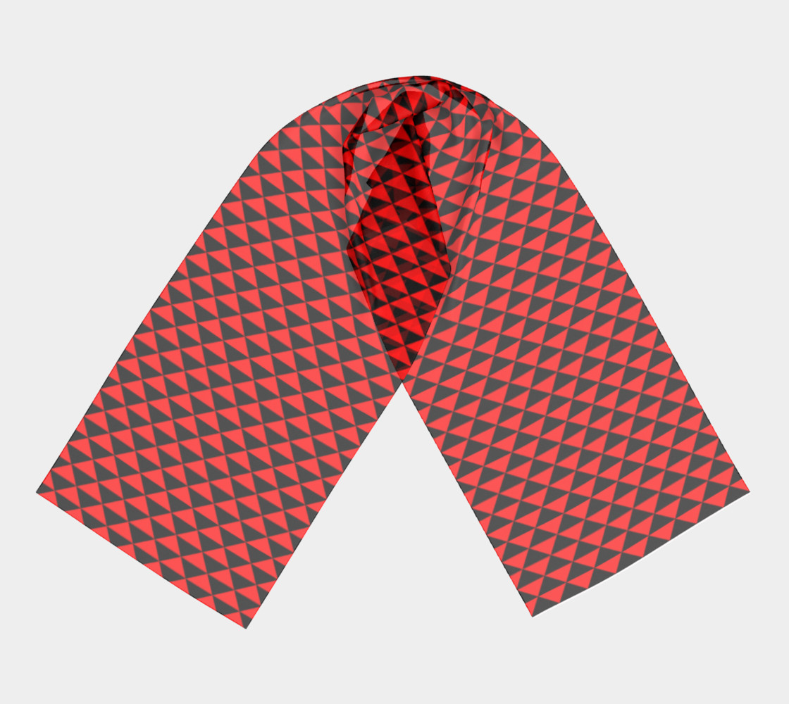 Black and Red Triangles preview #3