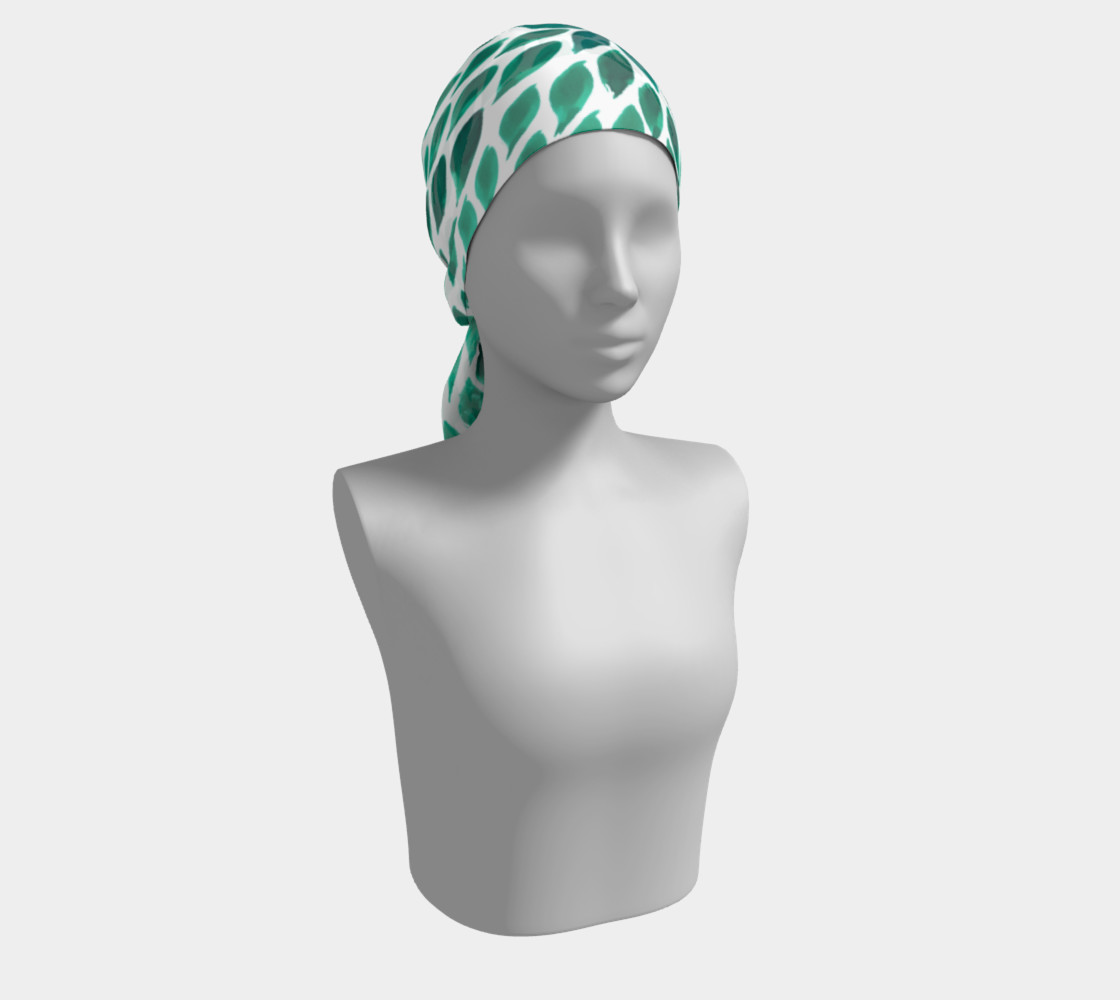 green-scarf preview #2