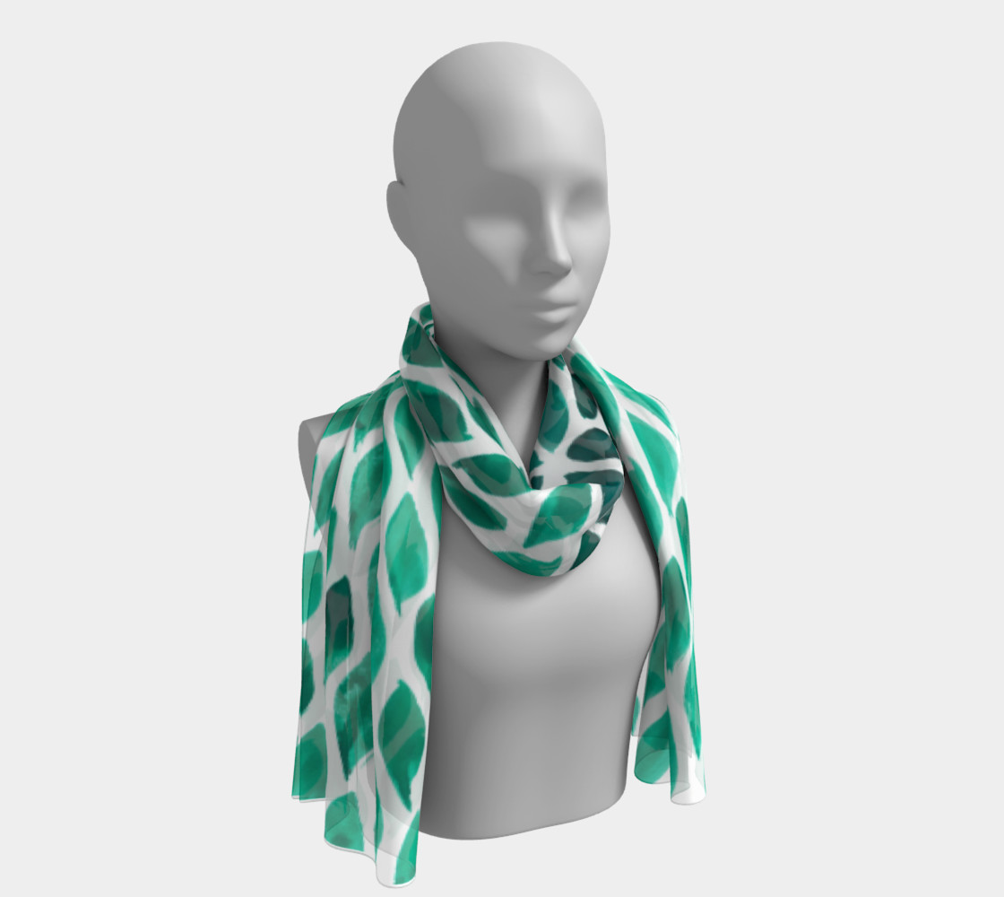 green-scarf preview #1