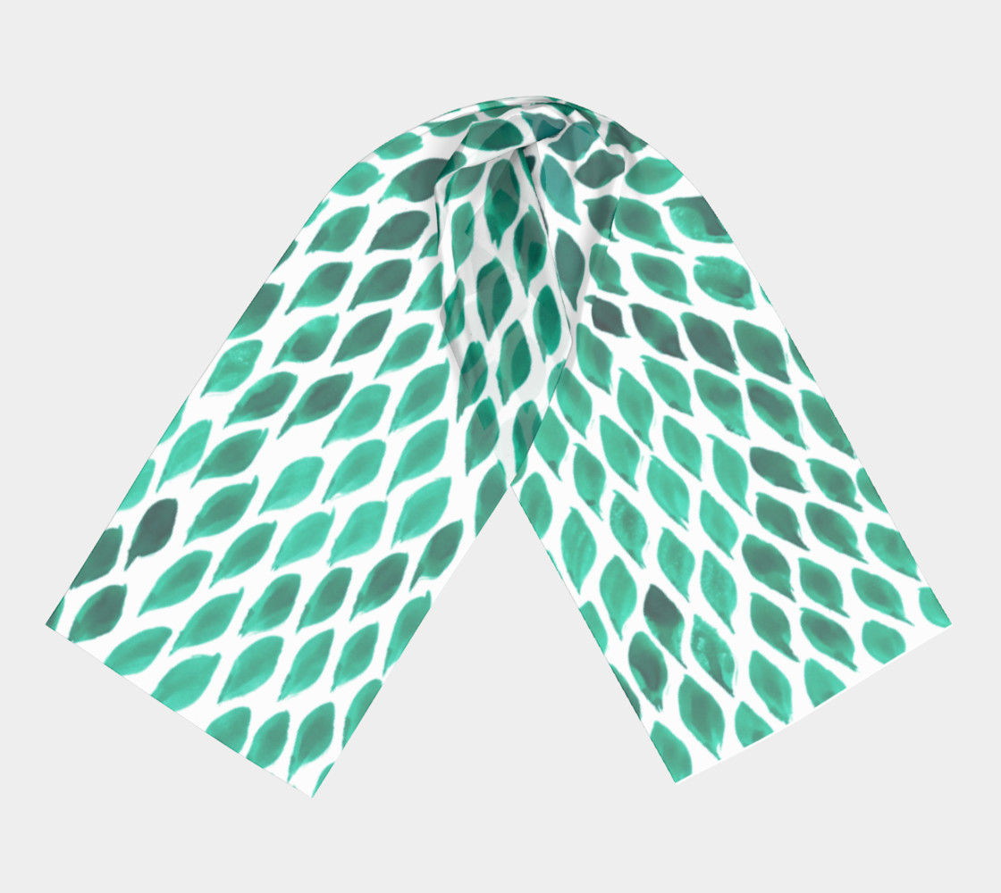 green-scarf preview #3