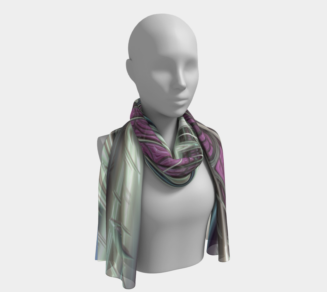 Cosmic Orchid Scarf preview #1