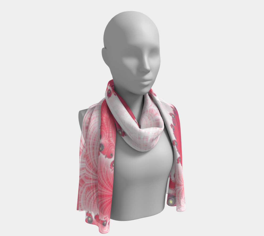 Strawberry Cream Scarf preview #1
