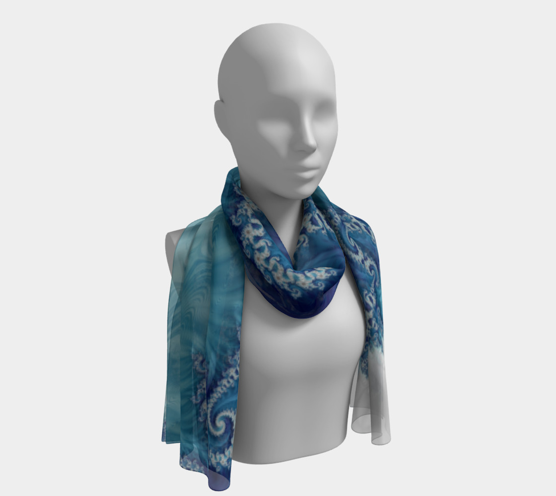 Sound of Seashell Scarf preview #1