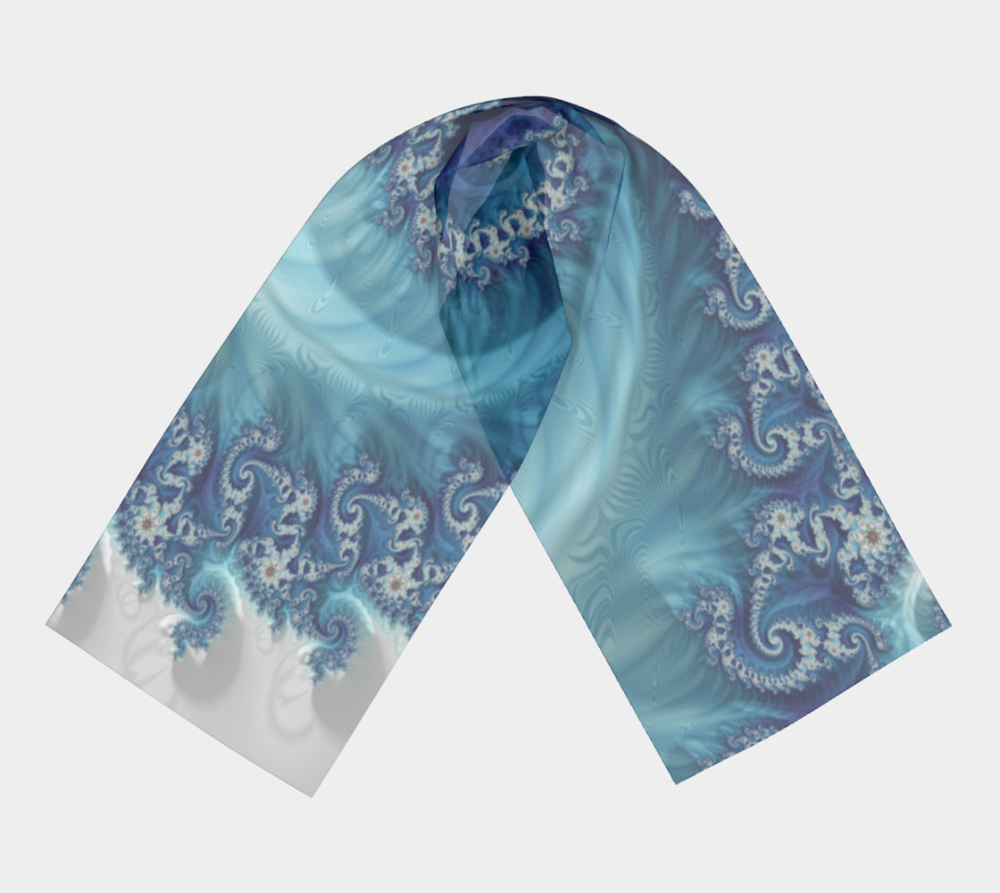 Sound of Seashell Scarf preview #3