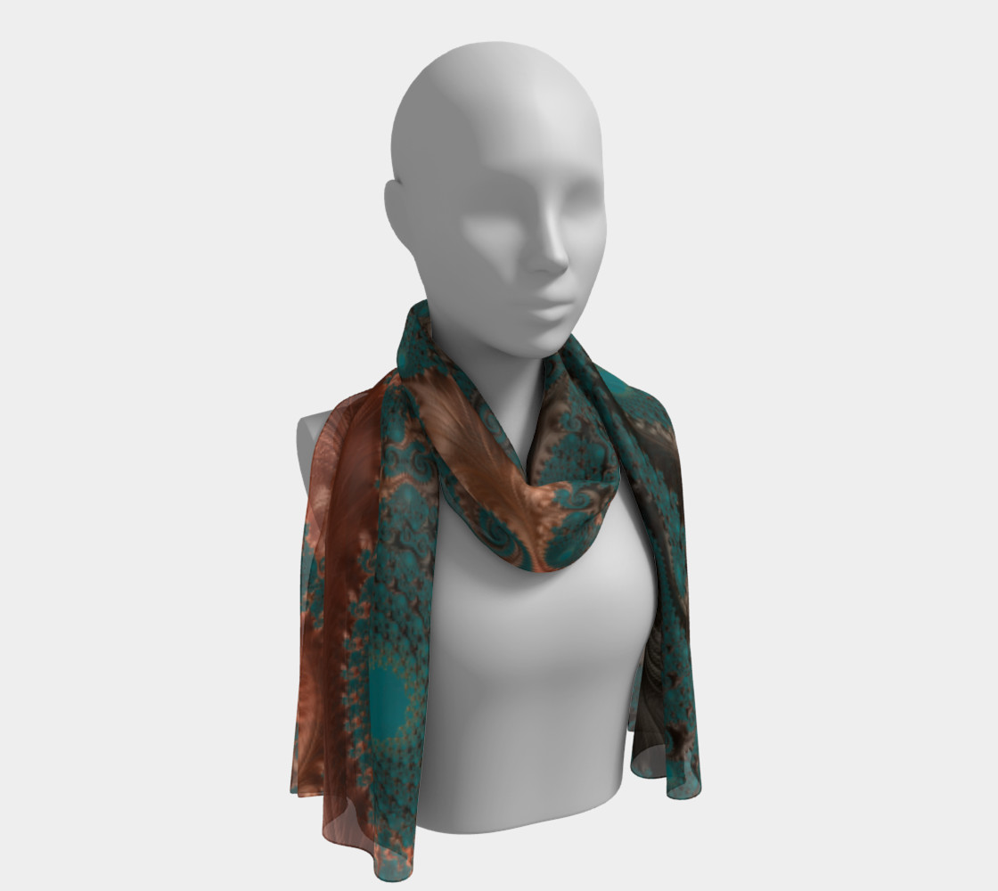 Copper Leaves Scarf thumbnail #2