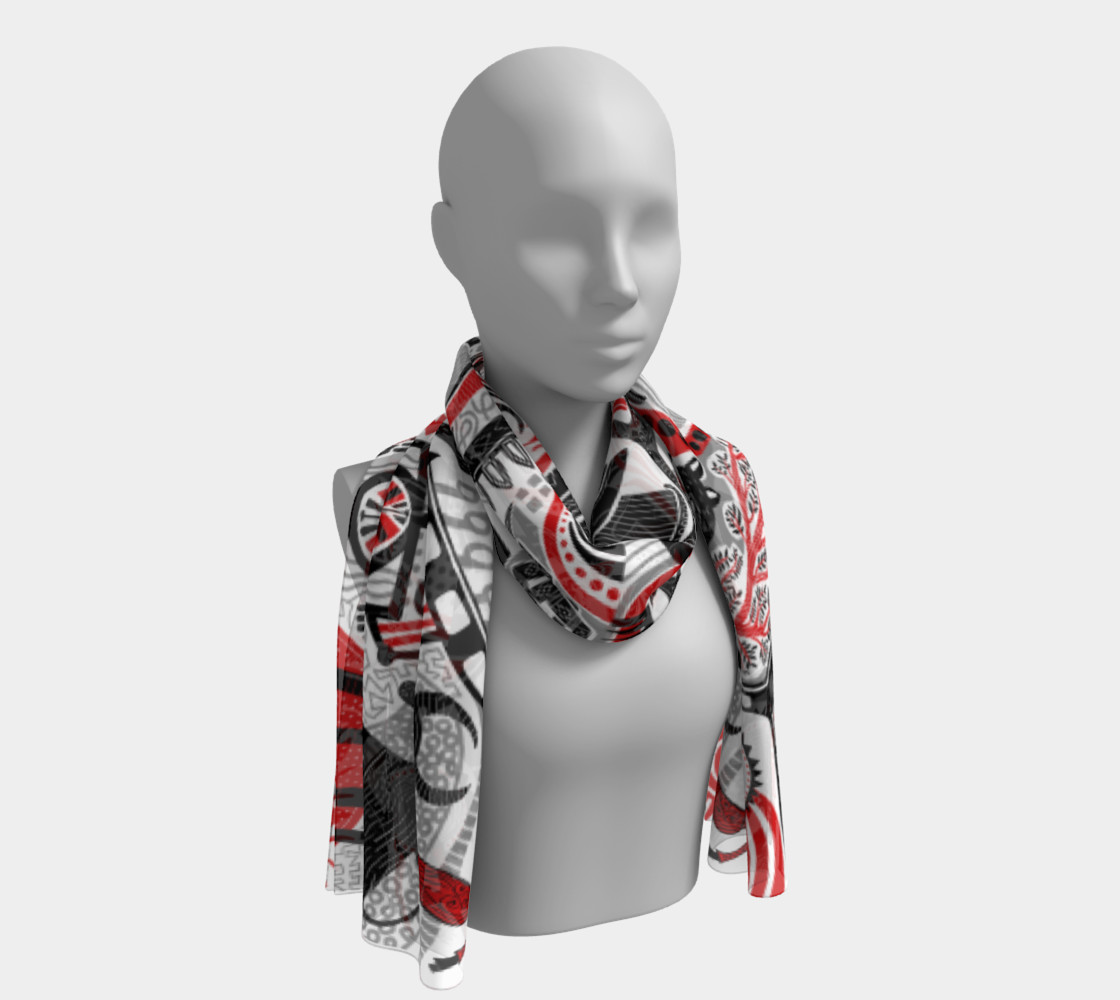 Into the Wild scarf preview #1