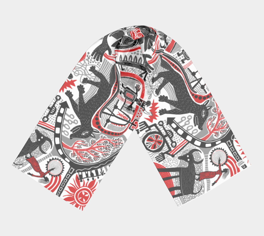 Into the Wild scarf preview #3