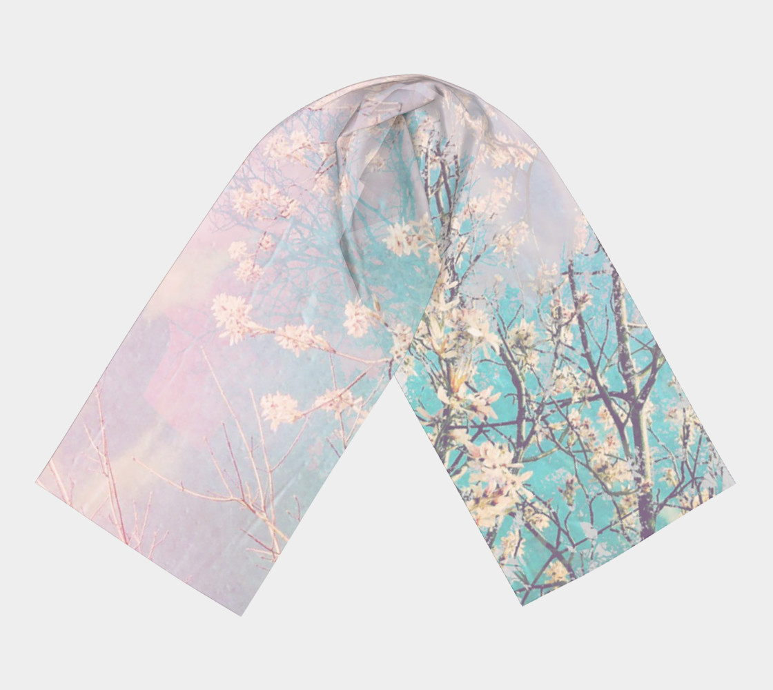 Spring Blossoms Long Scarf preview #3