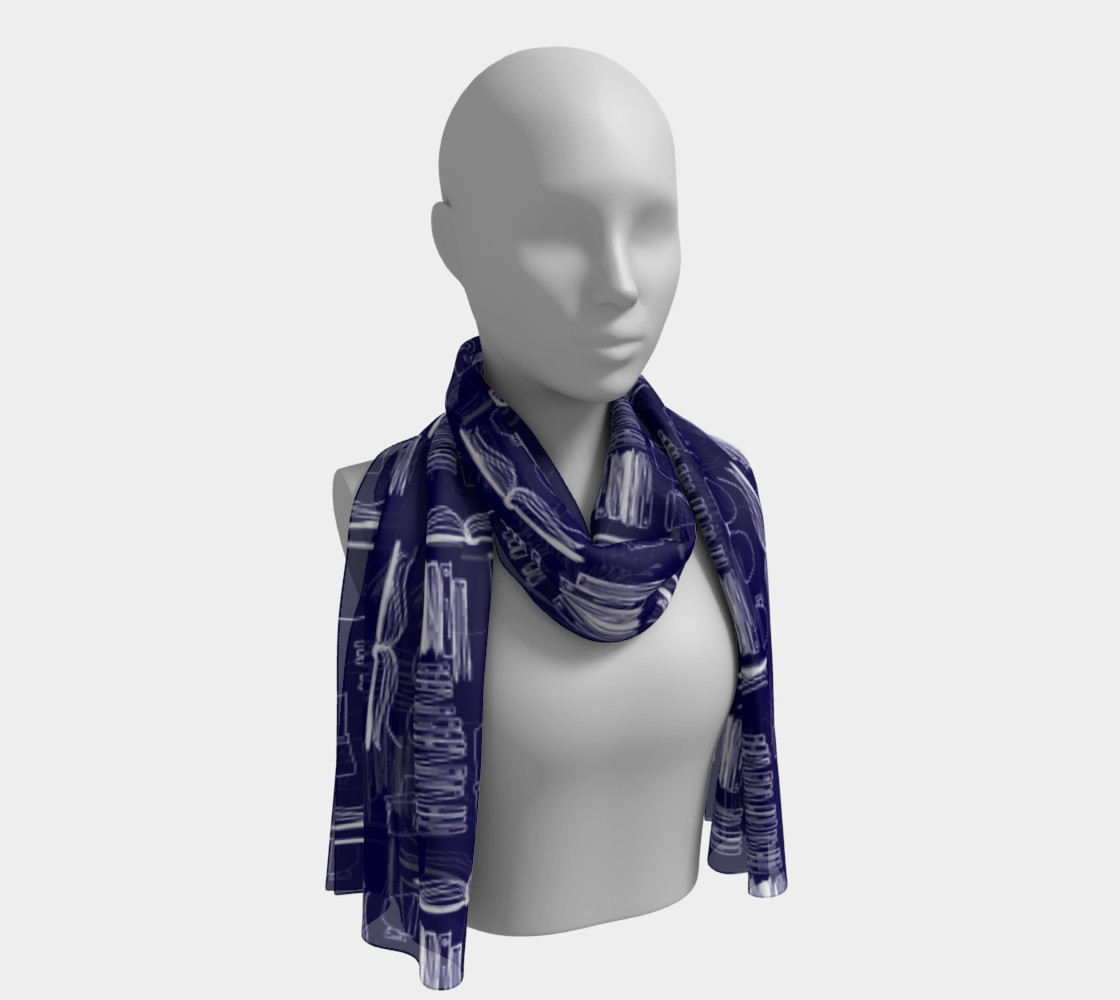 Why Not Just Read? (Scarf) preview #1