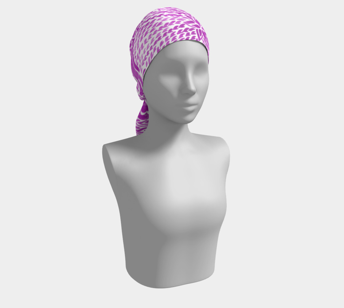 fuschia-scarf preview #2