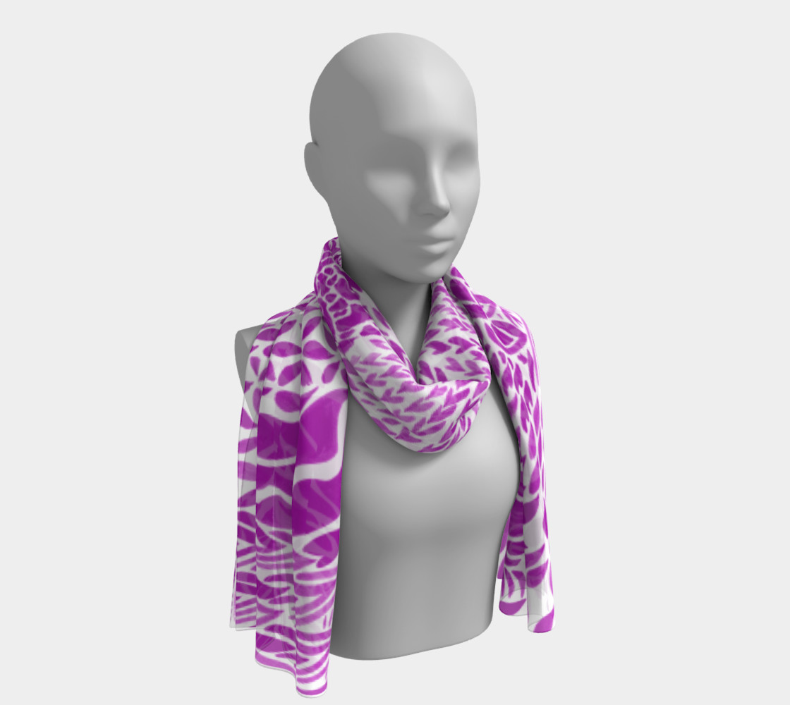 fuschia-scarf preview #1