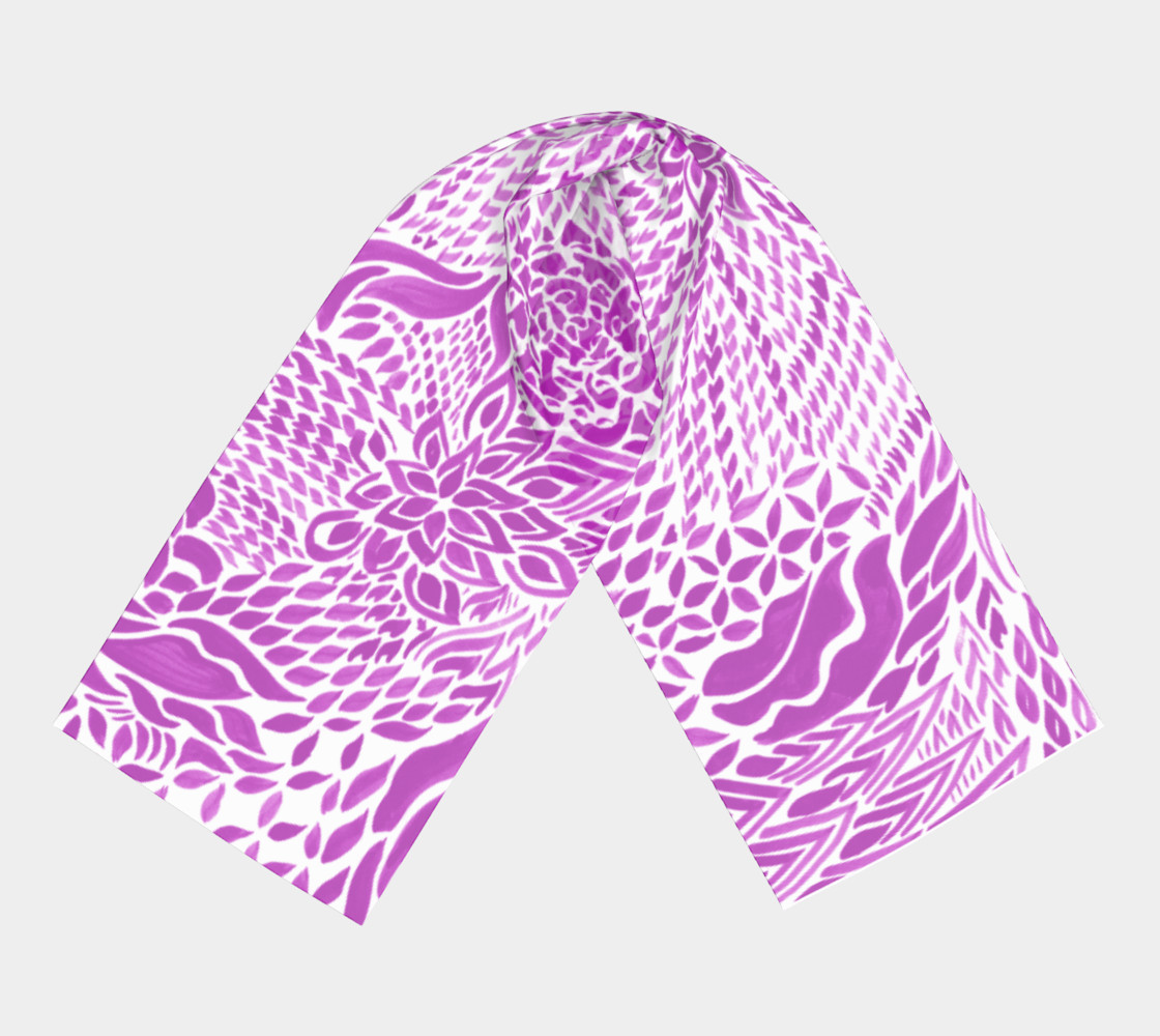 fuschia-scarf preview #3