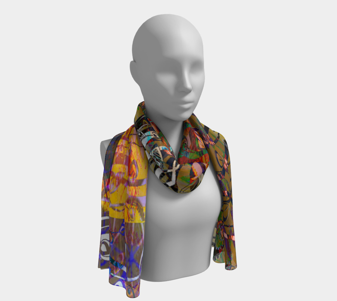The Rite of Spring Symphony Scarf preview #1