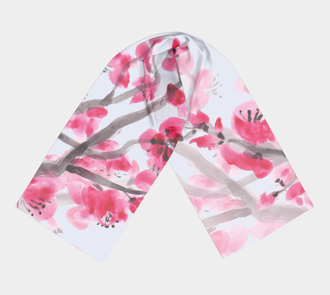 cherry blossom oblong preview #3