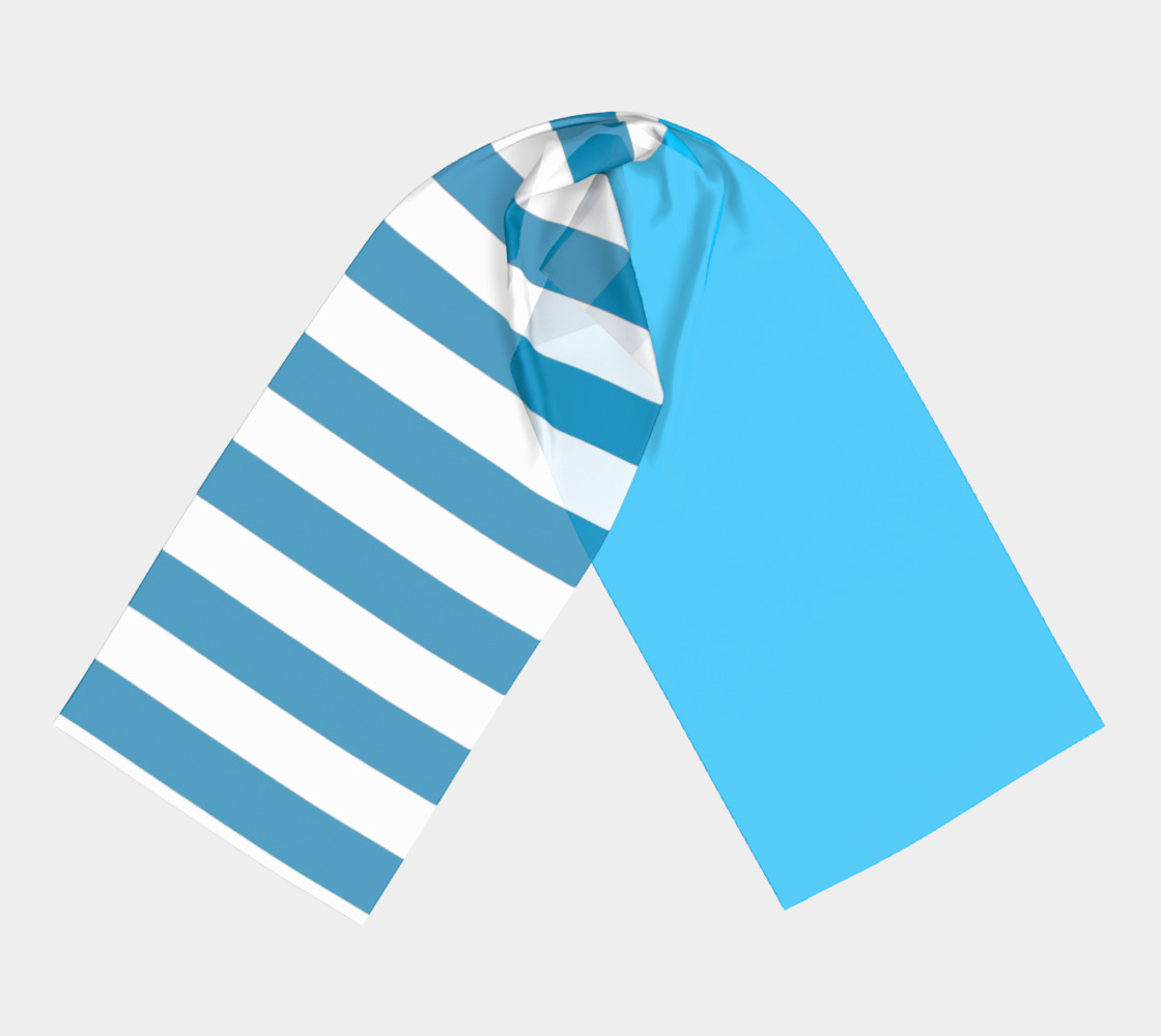 Blue and white Stripes preview #3