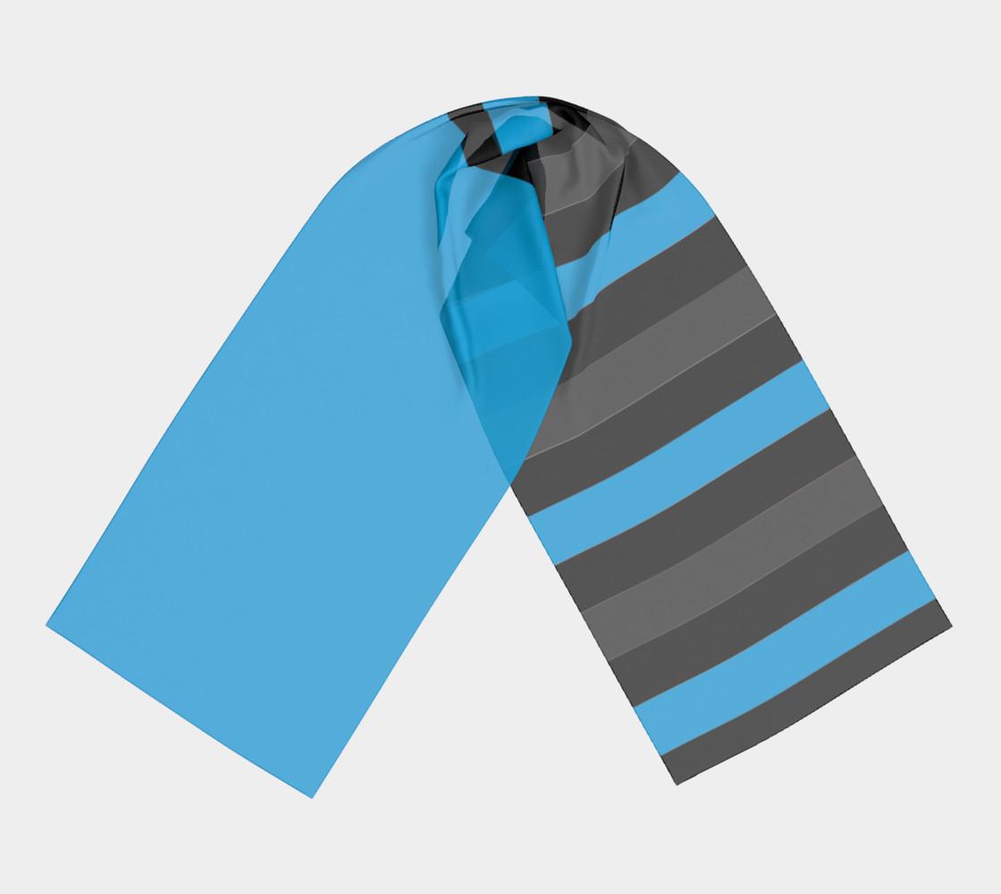 Aperçu de Blue with Black and gray Stripes #3
