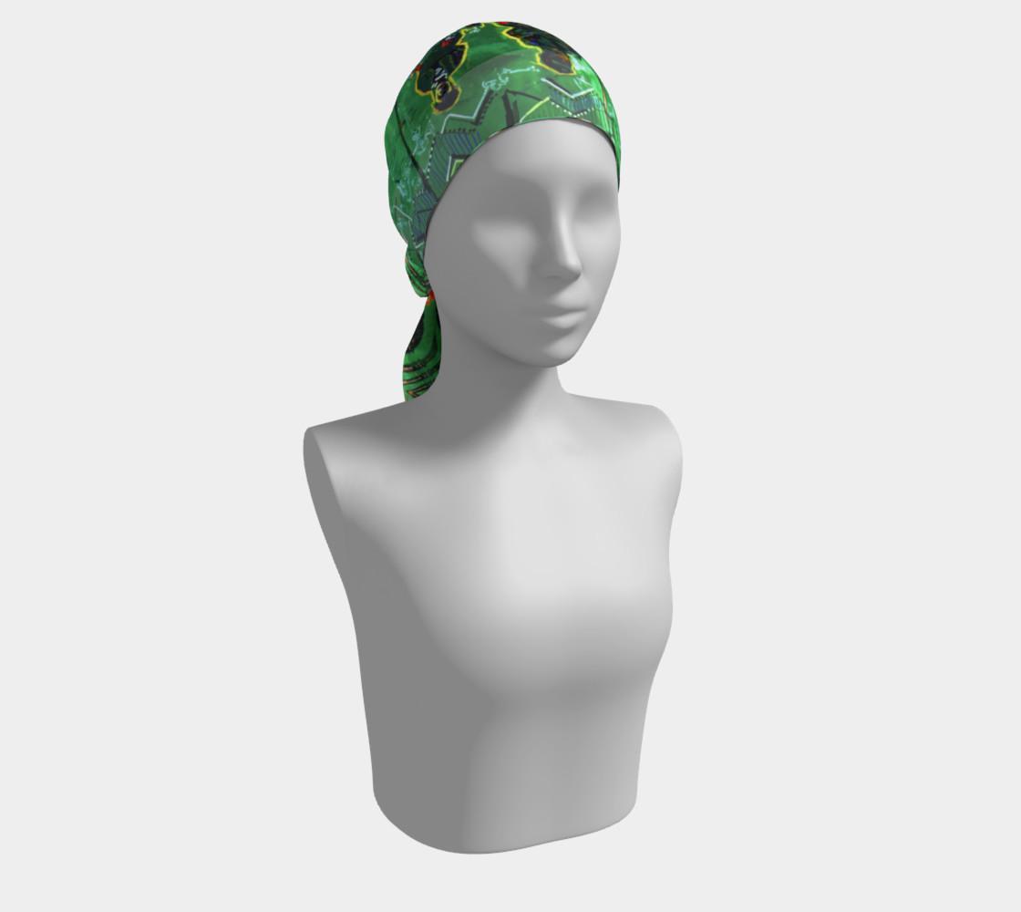 Aperçu de Emerald City Girl Scarf #2