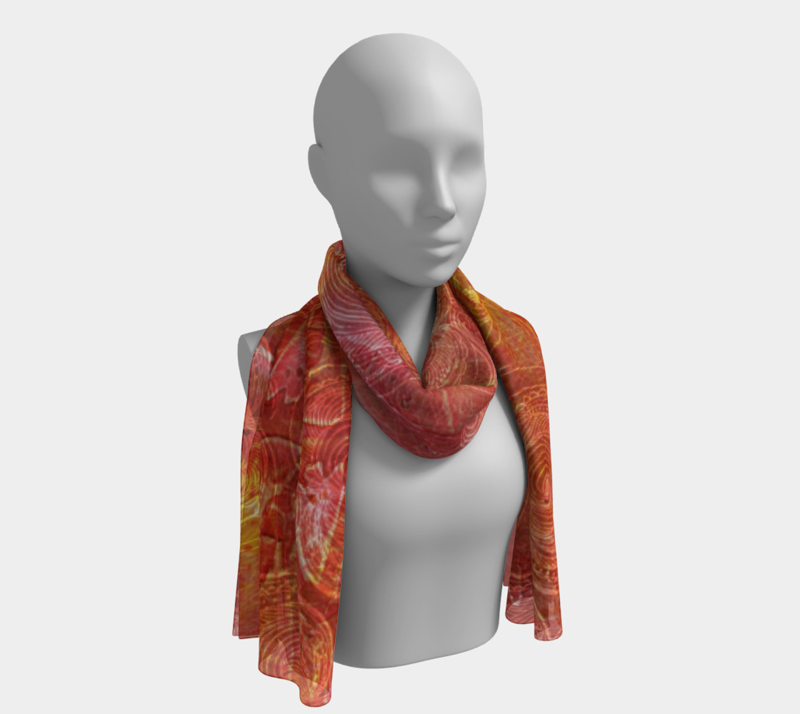 Catching Fire Long Scarf Miniature #2