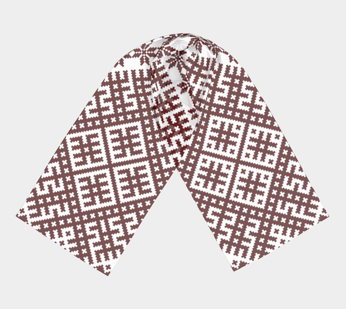 Lielvardes Belt Traditional Latvian Pattern preview #3