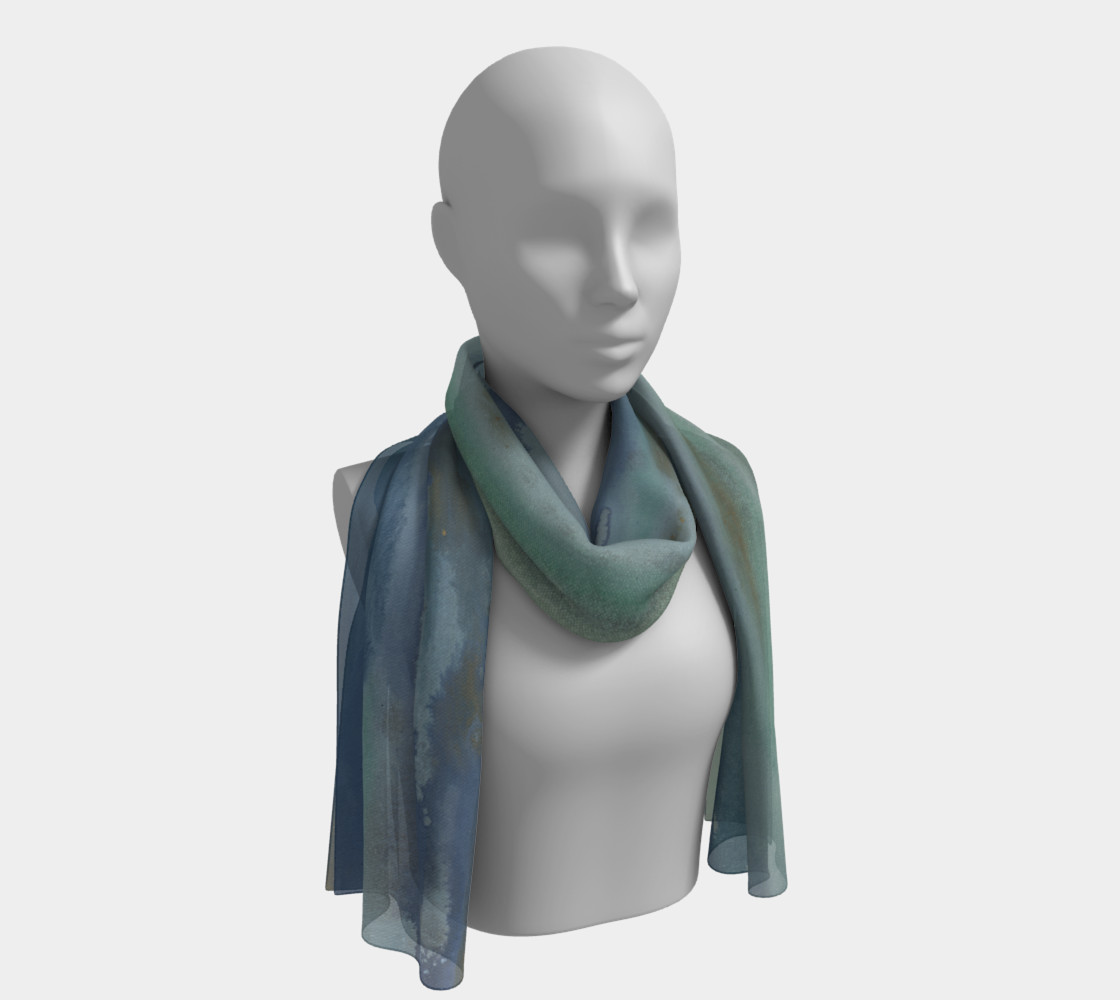 Surfside scarf 3D preview