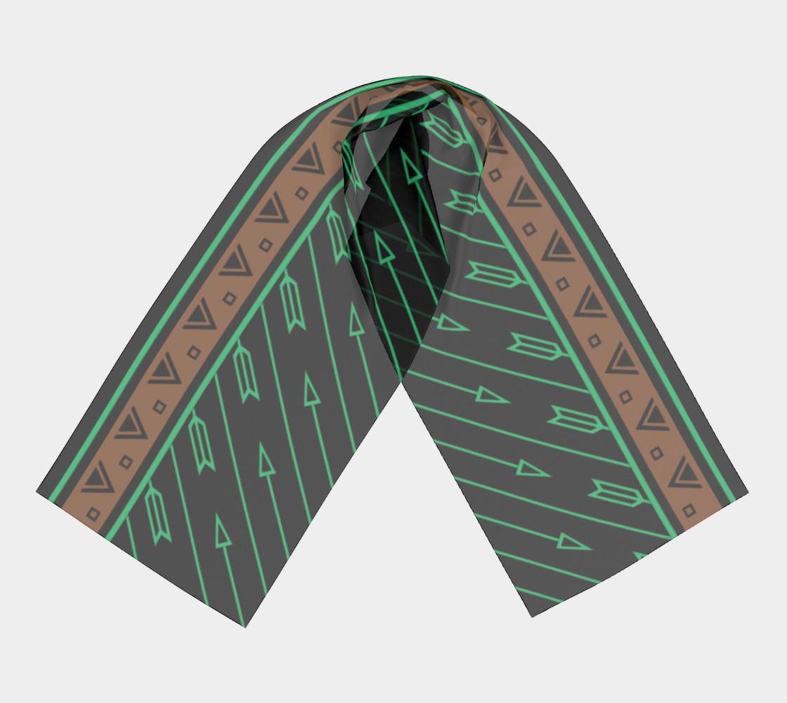 Arrows Flying (Black Aqua) preview #3