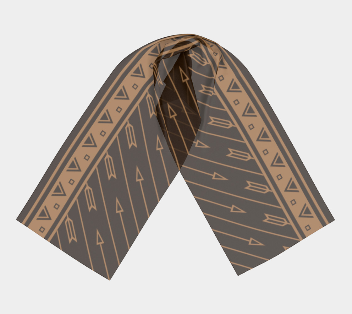 Arrows Flying (Dark Brown) preview #3