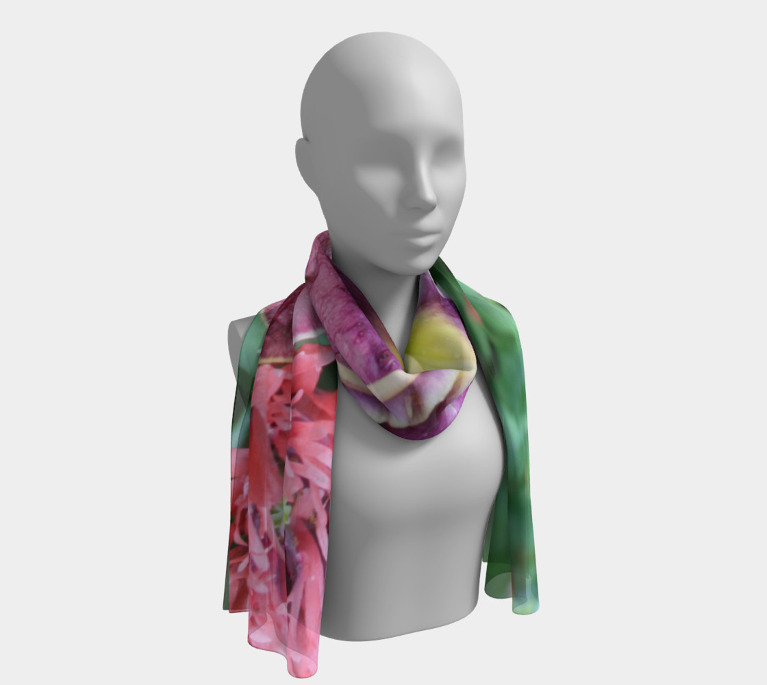 winter rainbow scarf preview #1