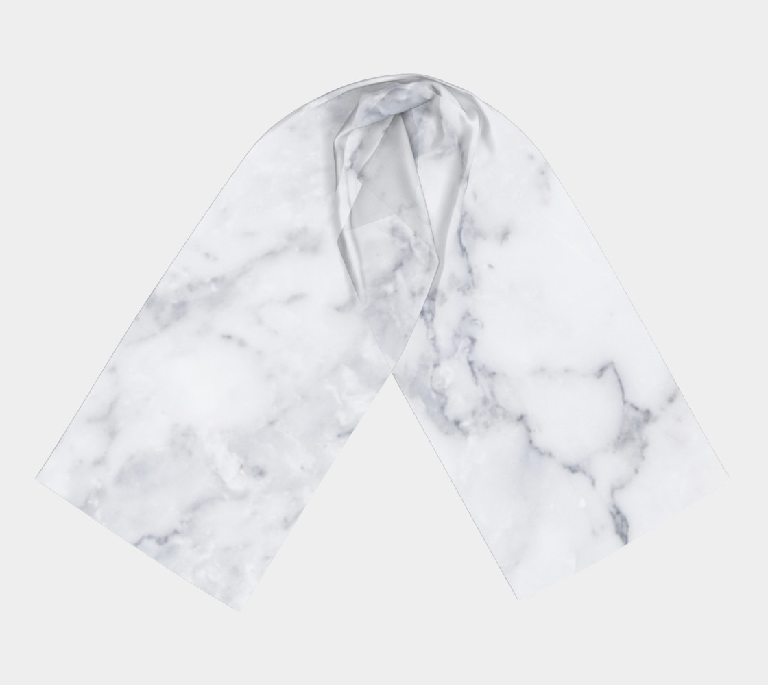marble long scarf preview #3