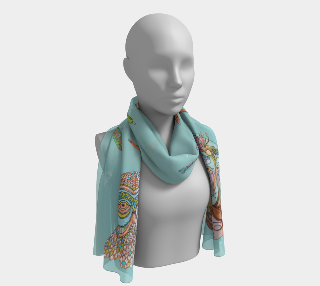 Soul Discovery Coloring Book Scarf Miniature #2