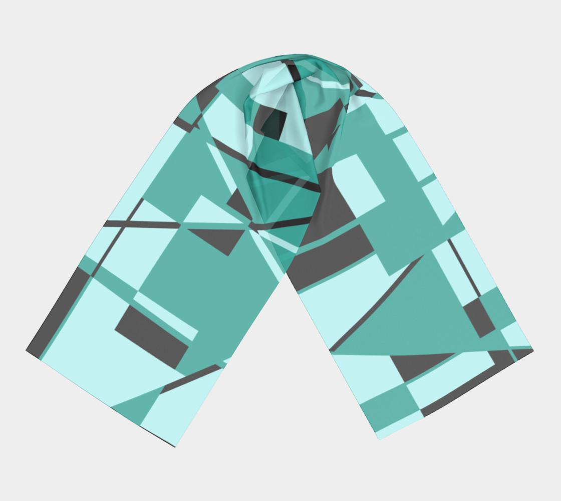 Aperçu de Riotous Symmetry in Teal #3