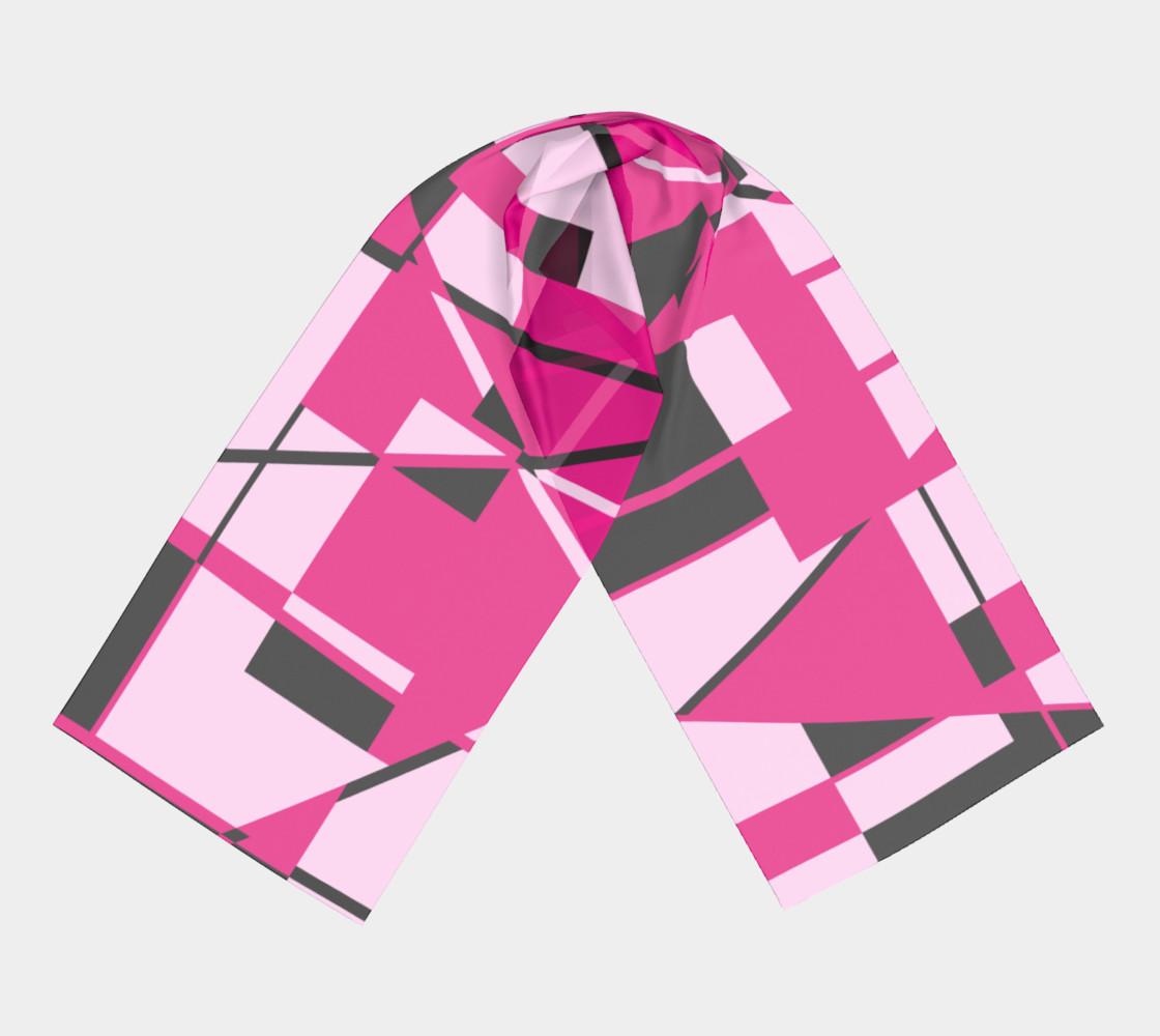 Aperçu de Riotous Symmetry in Fuschia #3