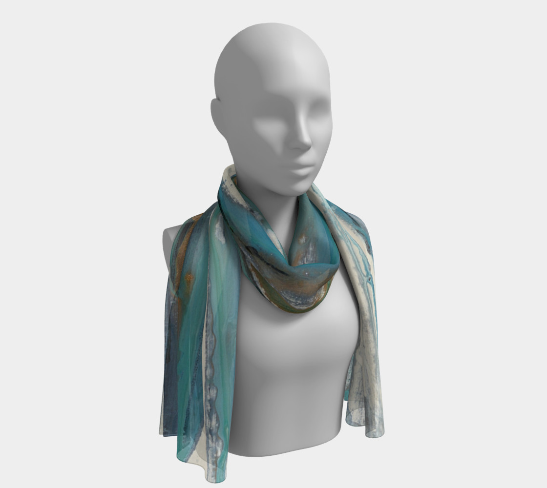 White sand scarf preview #1