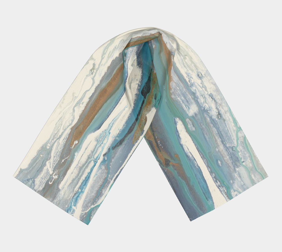 White sand scarf preview #3