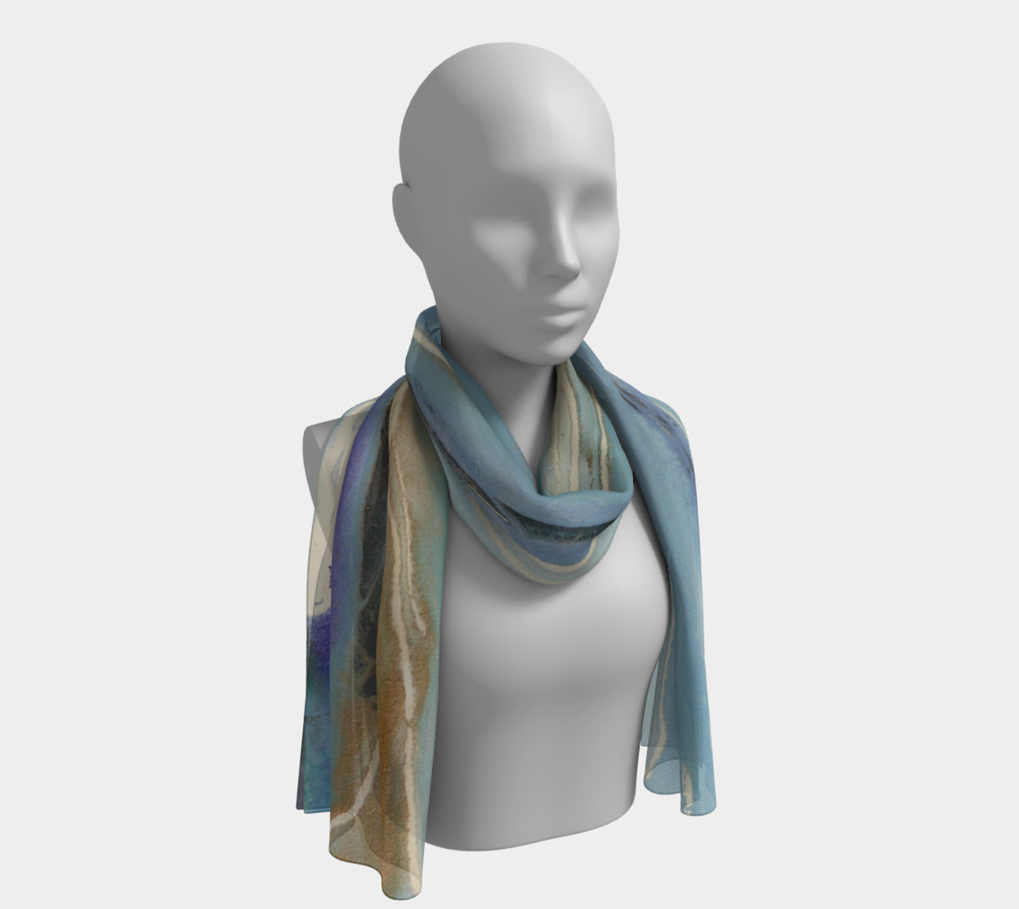 Blue Bay scarf preview #1
