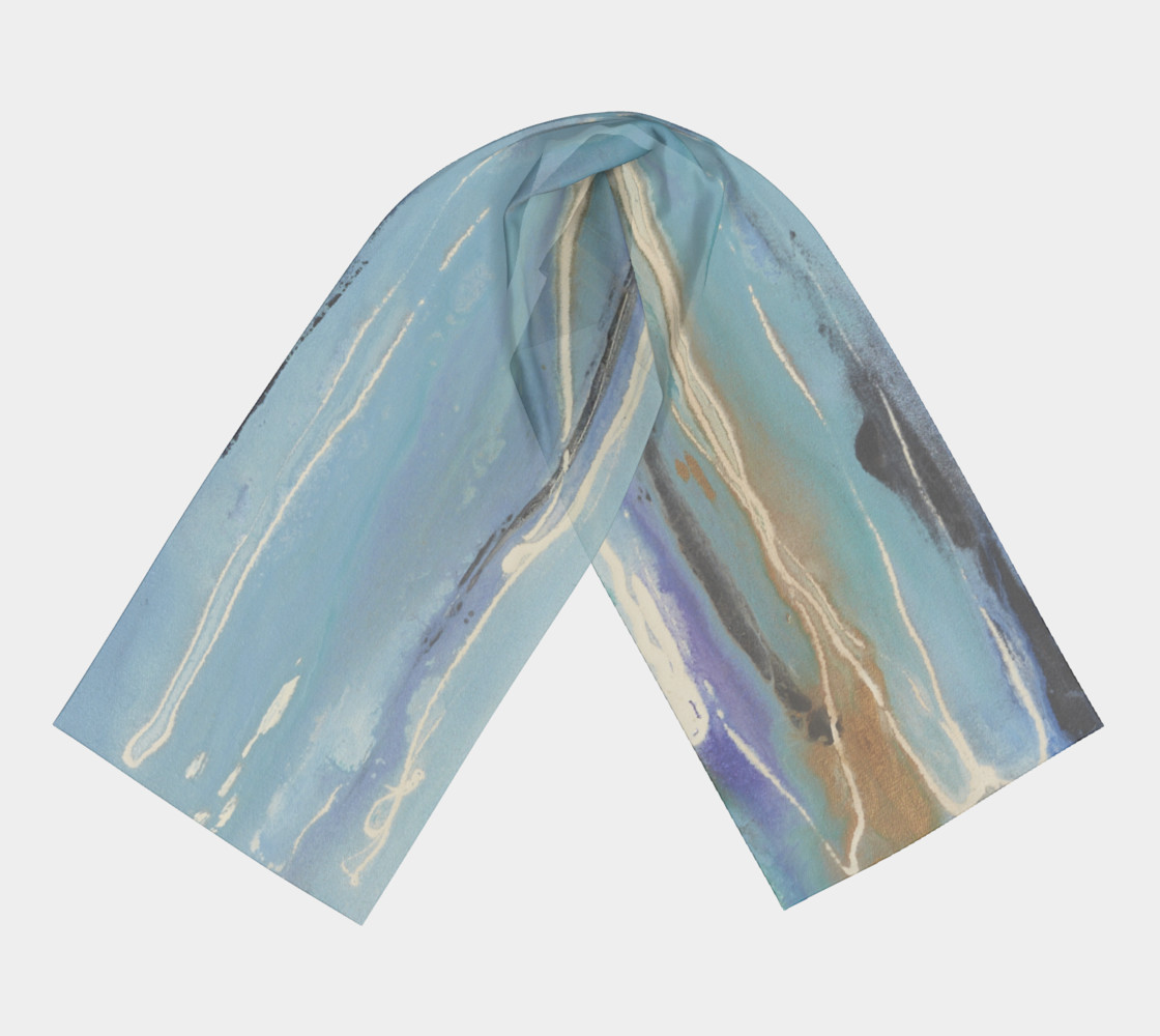 Blue Bay scarf preview #3