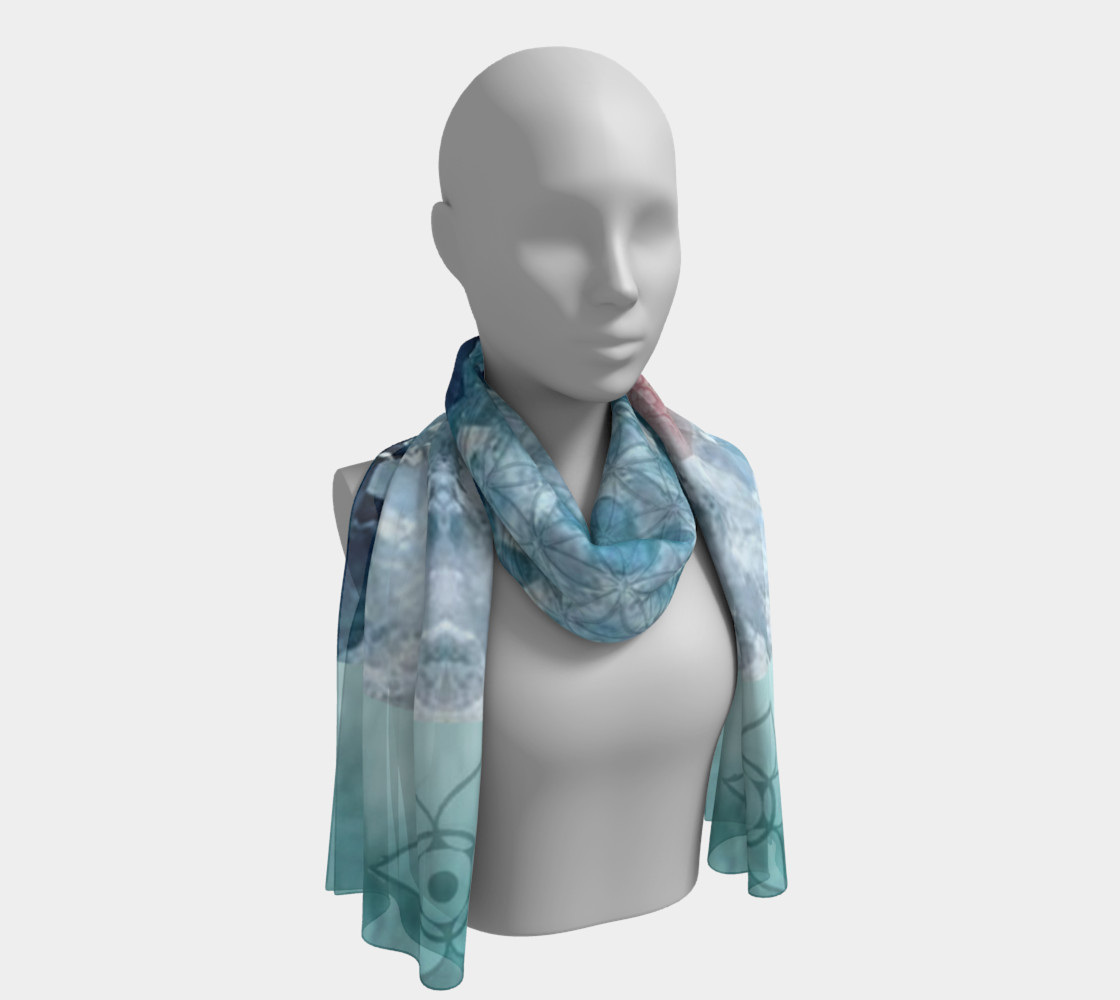 Eloquence Long Silk Scarf preview #1