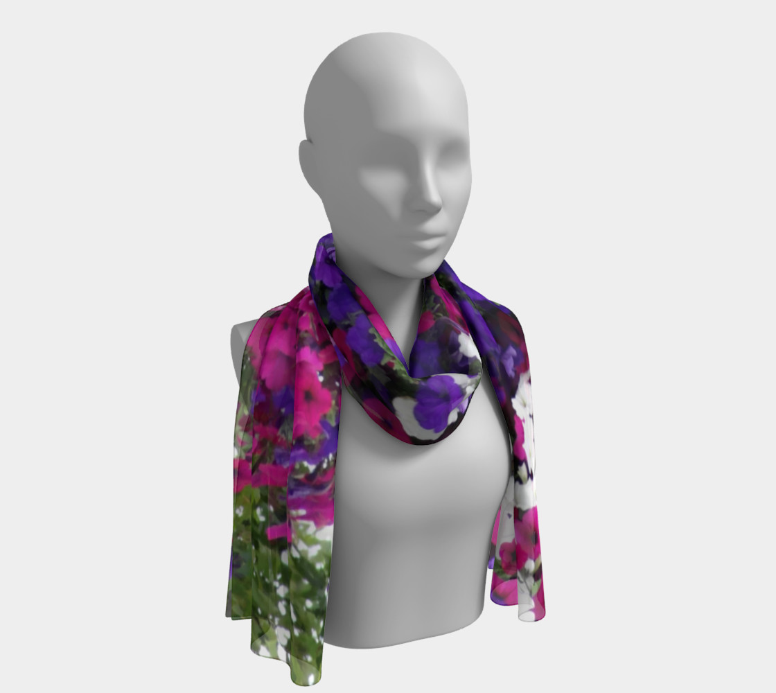 summer floral scarf preview #1