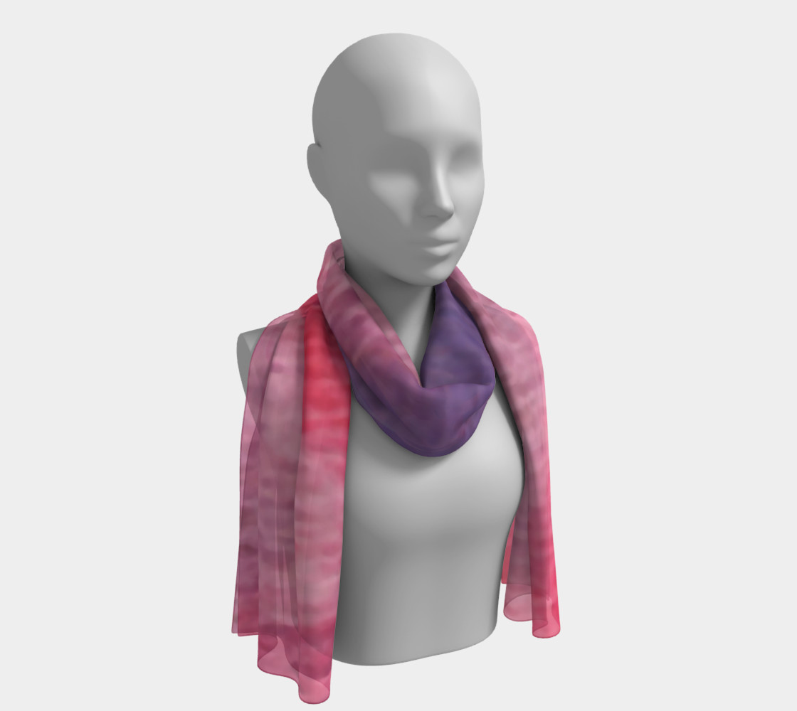 Roses at Night Long Scarf preview #1