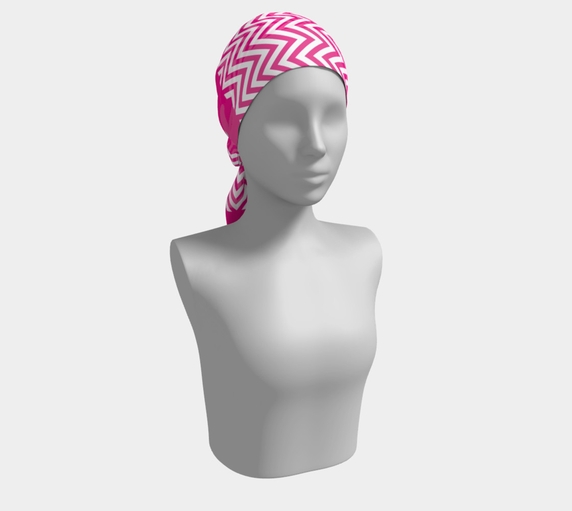 Hot Pink Chevron Stripes Chic preview #2