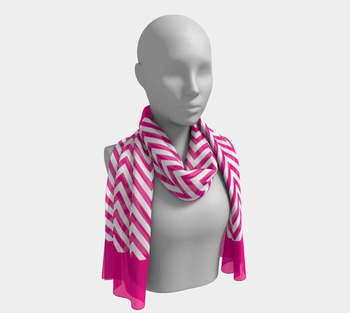 Hot Pink Chevron Stripes Chic preview #1