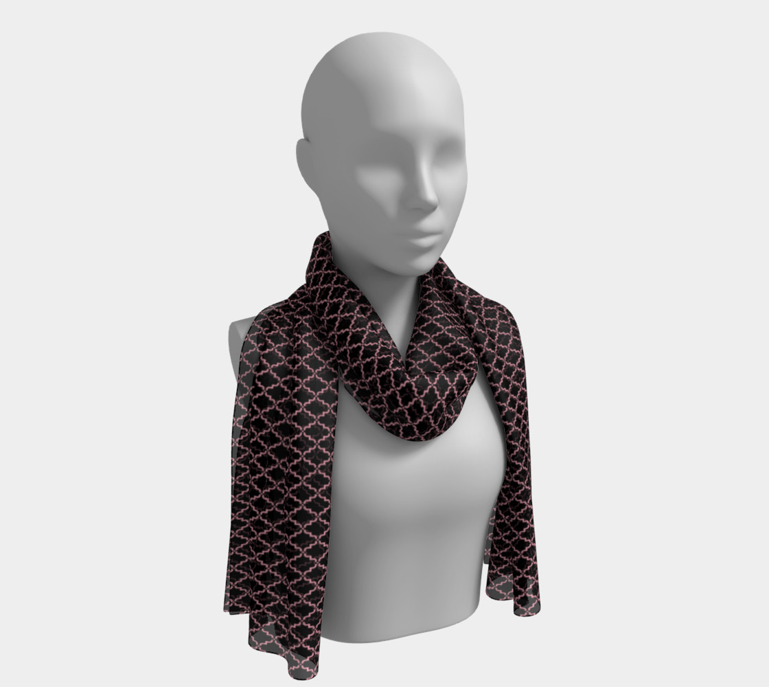 Long Scarf Inspired by Affirmed preview #1