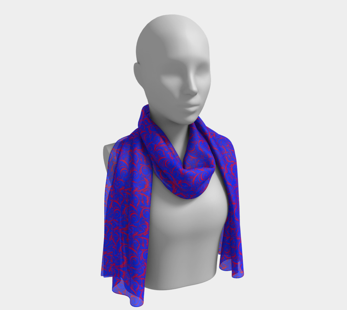 Long Scarf Inspired by Whirlaway preview #1