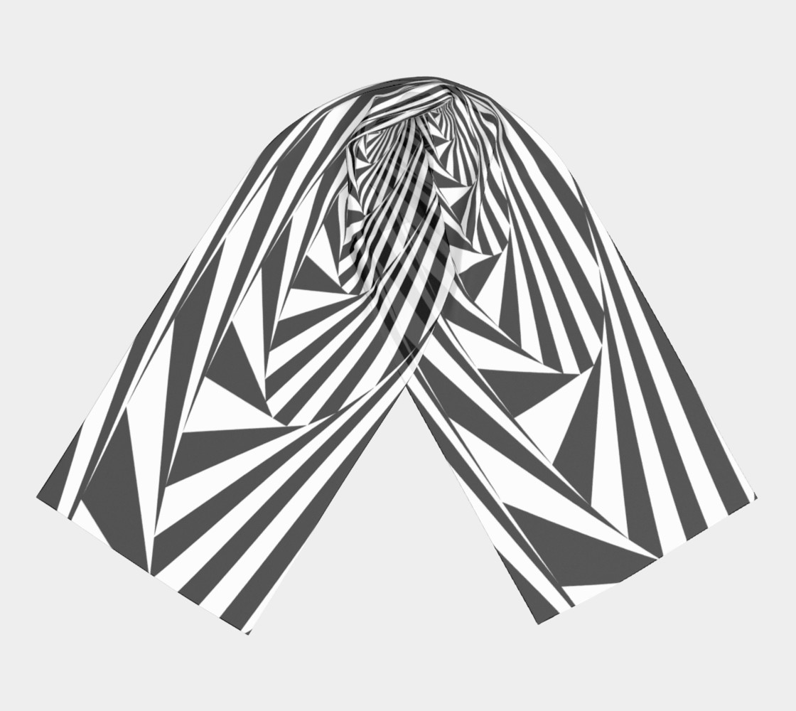 Hypnotic Silk Scarf preview #3