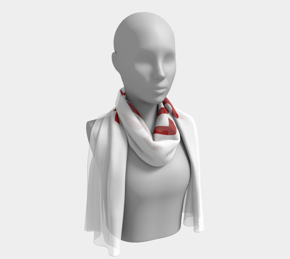 Sex is not Love Concept Design Long Scarf preview #1